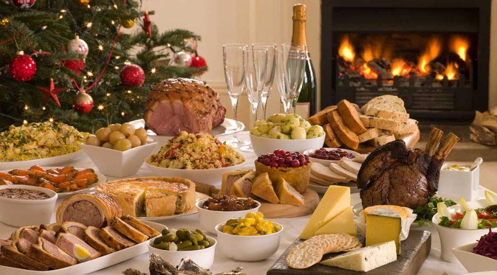 Julbord på Voxnabruk Herrgård